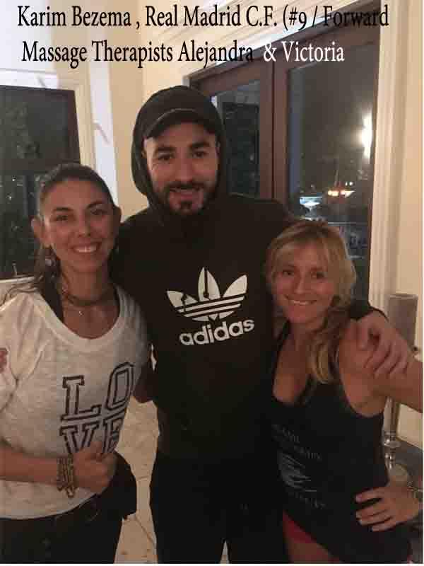 Karim-Bezema-Real-Madrid-Alejandra-Palau-Shane-molinaro-celebrity-massage-professional-athlete-massage-www.MiamiMassageTherapy-