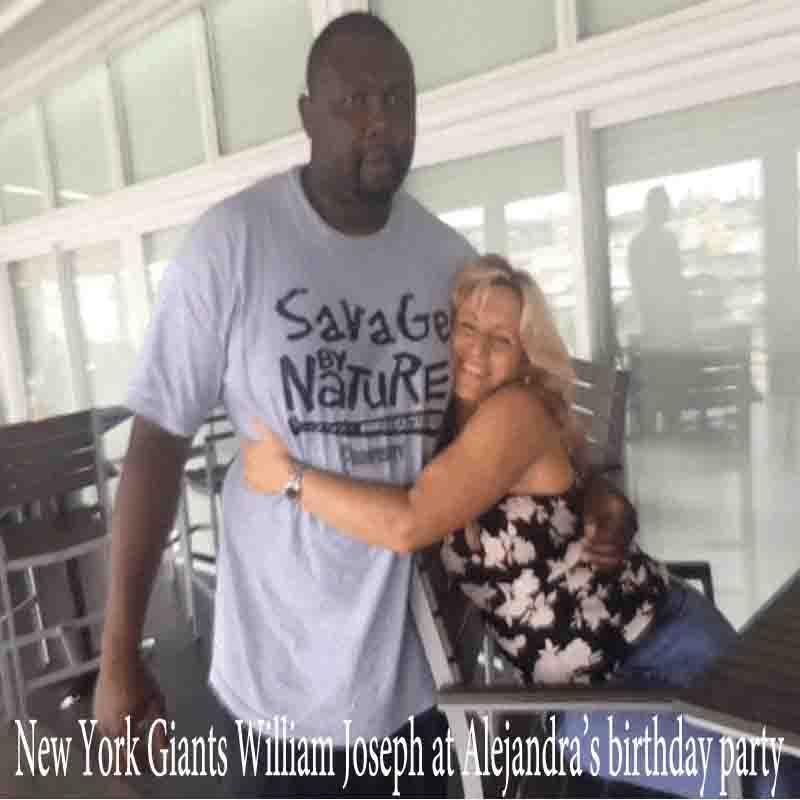 William-joseph-New-York-Giants-celebrity-massage-professional-athlete-massage-alejandra-palau-shane-molinaro-miamimassagetherapy.com